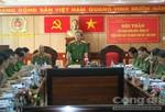 Thứ trưởng Bộ Công an Nguyễn Văn Thành làm việc tại Đắk Lắk