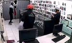 Clip băng trộm đột nhập tiệm điện thoại cuỗm tài sản ở Đồng Nai