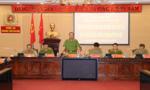 Thứ trưởng Lê Quý Vương kiểm tra công tác bảo vệ bầu cử tại Công an thành phố Hà Nội