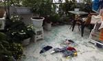 Hà Nội: Kính cường lực tự vỡ bắn tung tóe khiến nhiều người hốt hoảng