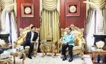 Đoàn đại biểu cấp cao TP.HCM thăm nguyên lãnh đạo Đảng, Nhà nước Lào