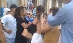 Nhóm phụ nữ đánh ghen, lột quần áo cô gái trẻ