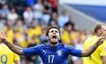 Hết giờ: Ý giành chiến thắng nghẹt thở trước Thuỵ Điển