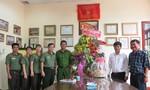 Nhiều đơn vị thăm, chúc mừng báo Công an TP.HCM nhân ngày báo chí