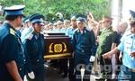 Đưa thi hài Đại tá Trần Quang Khải về tới quê nhà