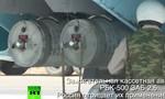 Lộ ảnh quân đội Nga sử dụng bom chùm ở Syria