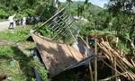 Quảng Ngãi: Ô tô chở gỗ lật xuống hố, 3 người thương vong