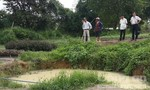 Ba trẻ nhỏ tắm hồ bị đuối nước