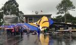 'Bức tường Tiger' khổng lồ đổ sập trong mưa