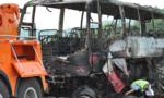 Cháy xe buýt ở Trung Quốc, 35 người chết
