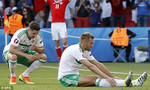 Hết giờ, xứ Wales 1-0 Bắc Ireland: Tội đồ McAuley