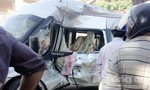 Xe bồn tông xe khách, ba người bị thương