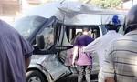 Nghệ An: Xe bồn tông xe du lịch 16 chỗ, 3 người bị thương