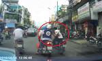 Clip tên cướp táo tợn giật giỏ xách trên đường phố Sài Gòn