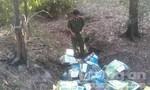 Phát hiện nhiều sản phẩm nhãn mác Tân Hiệp Phát hết hạn sử dụng đổ bỏ giữa rừng