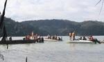 Đã tìm được thi thể 3 nạn nhân chìm xuồng tại hồ thủy điện Đại Ninh