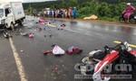 Ô tô đối đầu xe máy, hai người chết tại chỗ