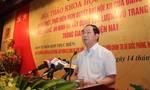 Hội thảo 'Quán triệt Nghị quyết Đại hội XII của Đảng về đảm bảo quốc phòng, an ninh'