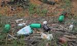 Ngổn ngang vỏ chai thuốc bảo vệ thực vật ở hồ cung cấp nước sinh hoạt cho TP. Đà Lạt