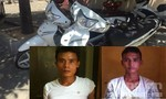 Hai đối tượng trộm 4 xe máy để mua ma túy thỏa mãn cơn nghiện
