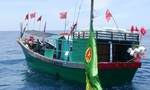 Biên phòng Quảng Bình đuổi 6 tàu cá Trung Quốc xâm phạm vào vùng biển Việt Nam