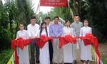 Báo Công an TP.HCM trao cầu nông thôn tại Trà Vinh và Bến Tre