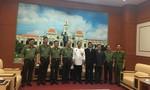 Công an TP.HCM tiếp Tổng lãnh sự Campuchia chào kết thúc nhiệm kỳ