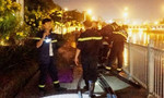 Người nhái lặn tìm thanh niên đuối nước ở kênh Nhiêu Lộc lúc nửa đêm
