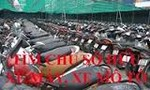 Phòng cảnh sát hình sự tìm chủ sở hữu 8 xe máy