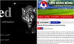Trang chủ của Liên đoàn Bóng đá Việt Nam bị hacker kiểm soát trong 3 tiếng