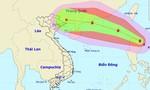 Bão giật cấp 12 đang áp sát Biển Đông