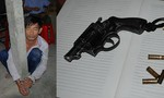 Trộm lẻn vào chùa dùng súng bắn người khi bị truy đuổi