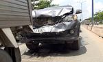 Tai nạn liên hoàn 4 xe ô tô, giao thông ùn tắc gần 2 giờ