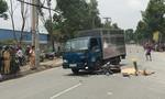 Đi khám bệnh, nam công nhân bị xe tải tông chết