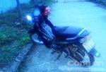 Bắt một thanh niên trộm cắp xe máy