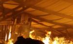 Cháy xưởng hạt điều, hàng chục công nhân hoảng loạn bỏ chạy