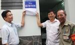 Báo CATP khánh thành căn nhà đầu tiên trong chương trình 40 căn nhà tình thương