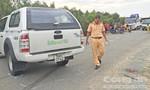Chạy tốc độ nhanh, tài xế đụng chết học sinh lớp 1