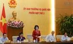 Ủy ban Thường vụ Quốc hội cho ý kiến về dự thảo Luật Cảnh vệ, Luật Công an xã
