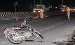 Tông vào hiện trường tai nạn giao thông, nam thanh niên nhập viện
