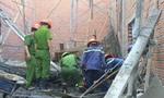Sập sàn nhà đang xây, 8 người thương vong