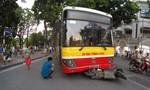 Tai nạn liên hoàn, xe buýt cuốn một người vào gầm tử vong tại chỗ