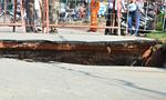 Hiện trường cây cầu bị sập ở Sài Gòn