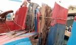 Va chạm trên biển, tàu chở 100 tấn hải sản hư hỏng nặng