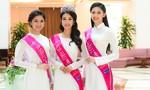 Hoa hậu Đỗ Mỹ Linh đẹp dịu dàng trong tà áo dài sau ngày đăng quang