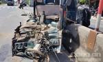 Ba xe ô tô tông nhau, khiến một cháu nhỏ bị thương nặng