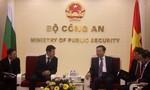 Bộ nội vụ Cộng hòa Bulgaria thăm và làm việc với Lãnh đạo Bộ Công an Việt Nam