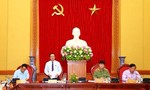 Phó chủ tịch Quốc hội Đỗ Bá Tỵ thăm và làm việc với Bộ công an