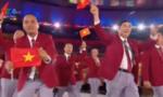 Clip: Đoàn thể thao Việt Nam đầy khí thế tại lễ khai mạc Olympic Rio 2016