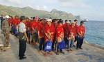 Tiếp nhận 53 ngư dân được Indonesia trao trả